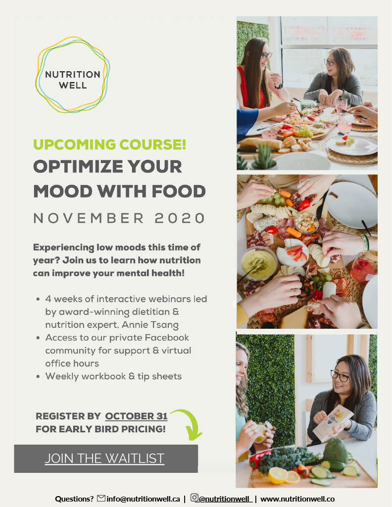 OPTIMIZE YOUR MOOD WITH FOOD