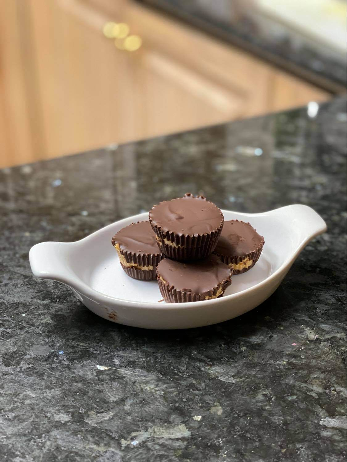 Homemade Healthy Peanut Butter Cups