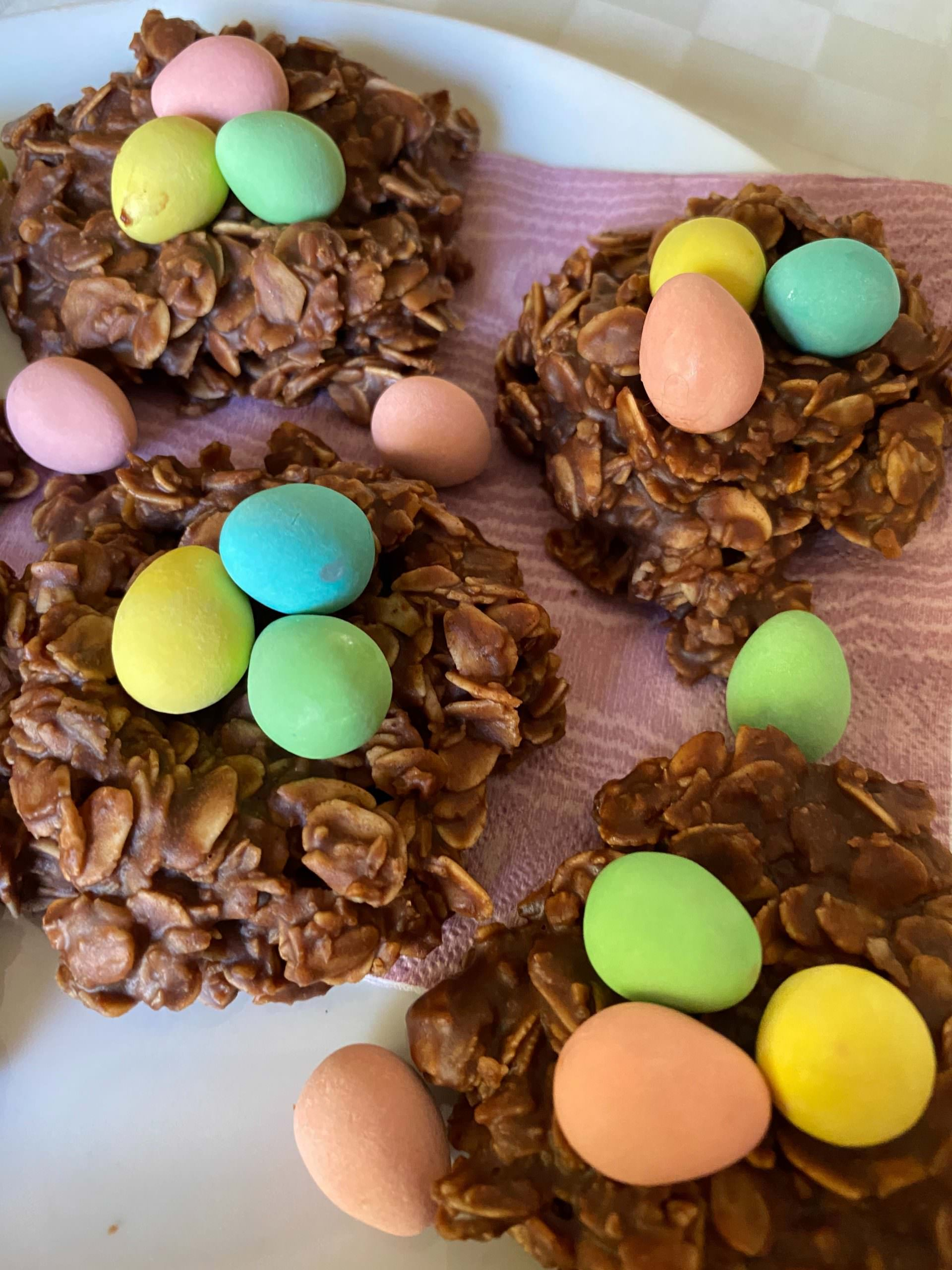 Healthy Peanut Butter Easter Cookies