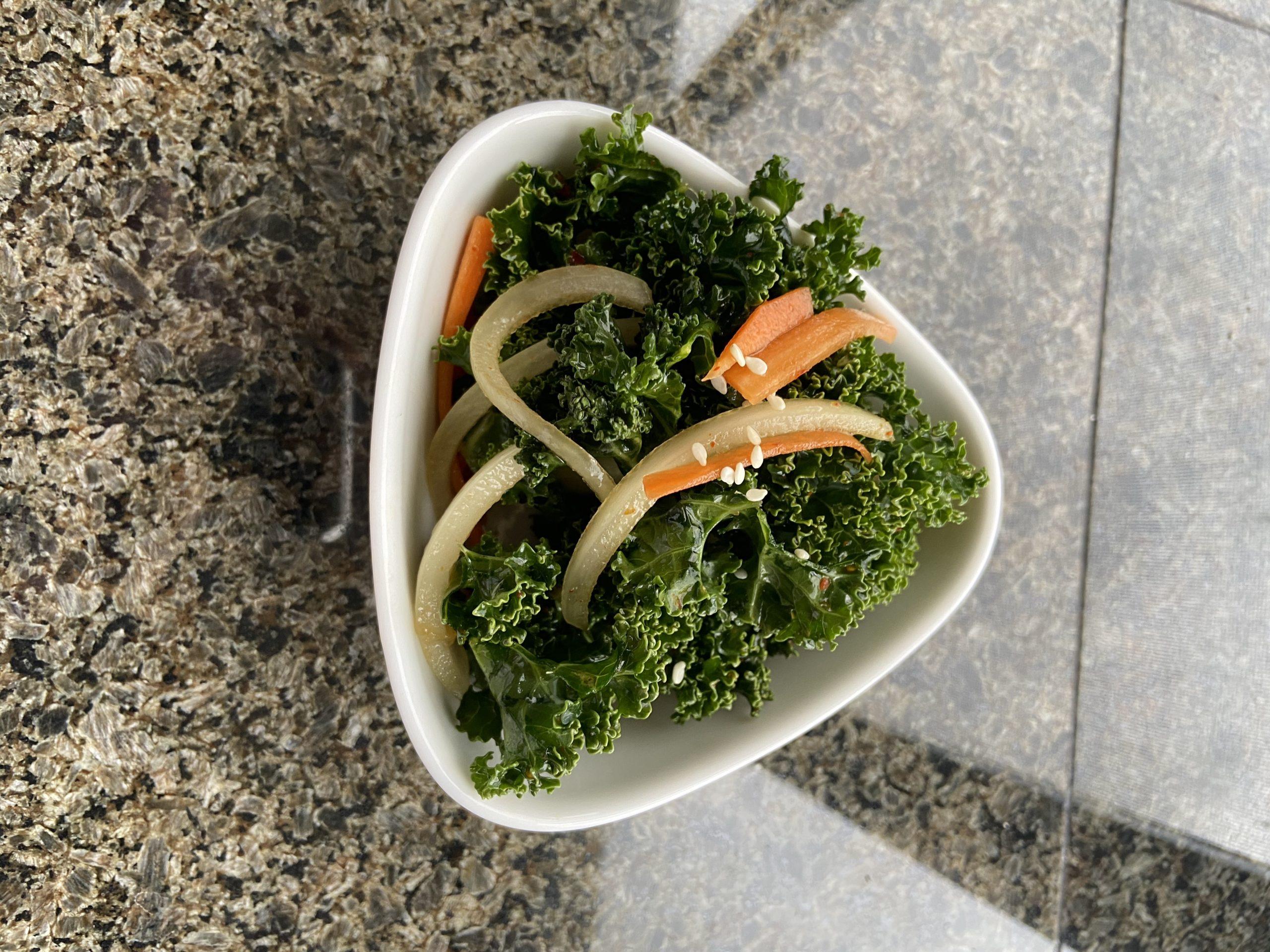 Korean Kale Salad