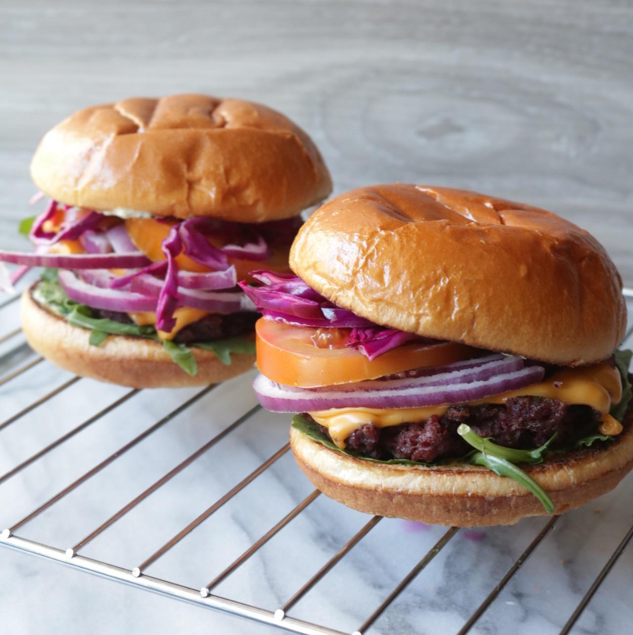 Vegan Seitan Burger Patties