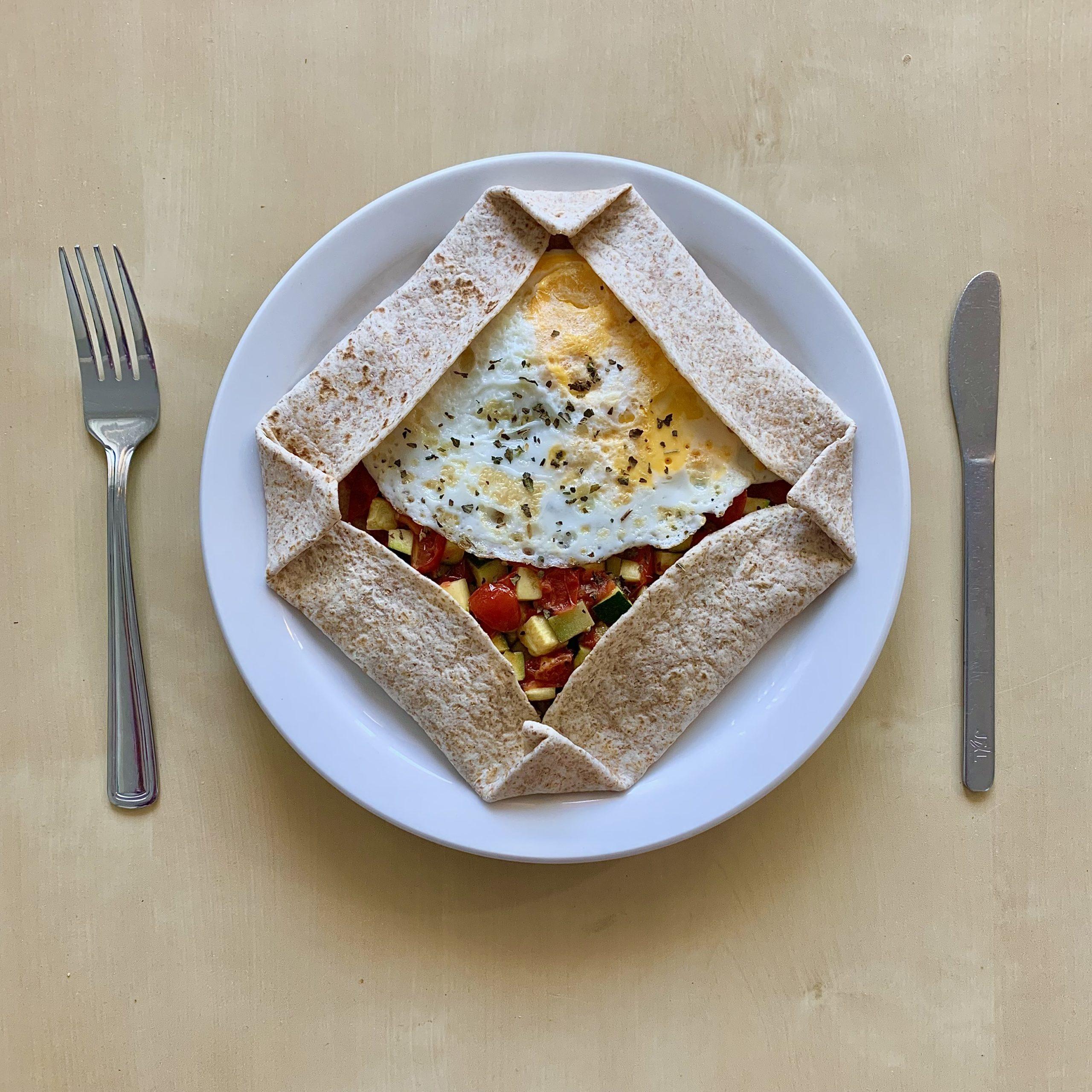Vegetable Breakfast Galette